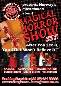 Copy of Horror Show advert